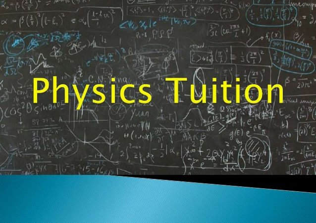 Finding a competent tutor for physics tuition